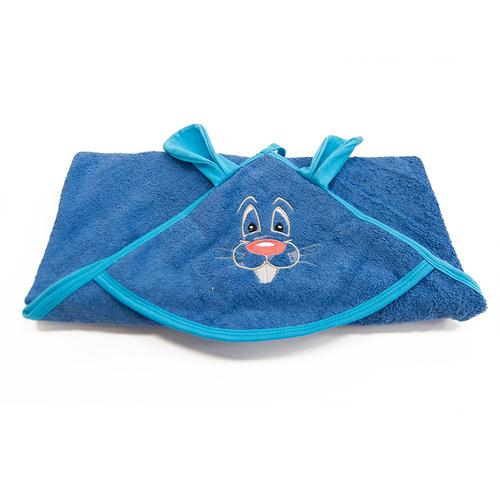 Уголок детский махровый с вышивкой василек фото 4