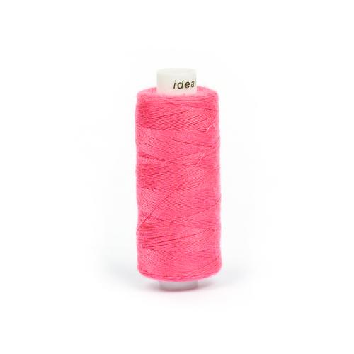 Нитки бытовые IDEAL 40/2 366м 100% п/э, цв.162 розовый фото 1