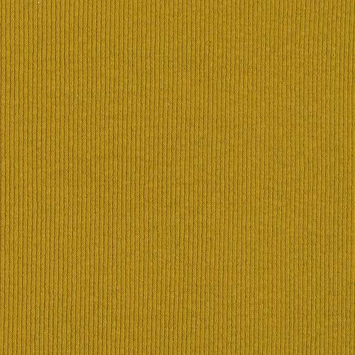 Ткань на отрез кашкорсе 3-х нитка с лайкрой цвет горчичный фото 2