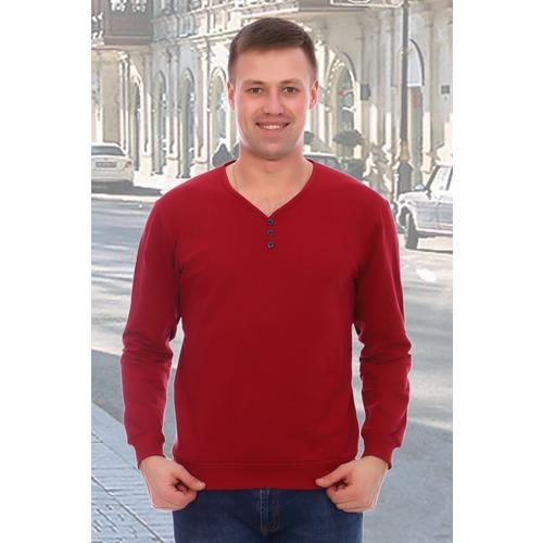 Джемпер Тореадор 10796 цвет бордовый р 52 фото 1