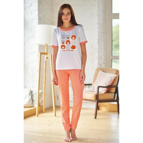 Пижама 0825-70 цвет Оранжевый р 50 фото 1