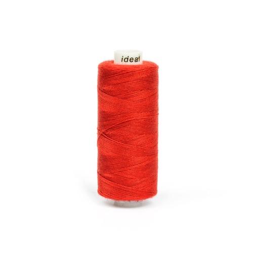 Нитки бытовые IDEAL 40/2 366м 100% п/э, цв.585 рыжий фото 1