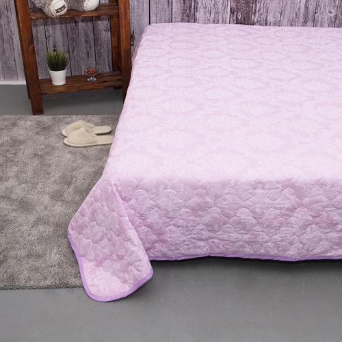 Покрывало стеганое Агат (розовый) 10333/3 пудра 240/210 Евро фото 4