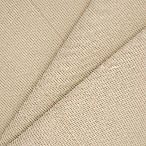 Ткань на отрез кашкорсе 3-х нитка с лайкрой цвет светлый кемел (Уценка) фото 1