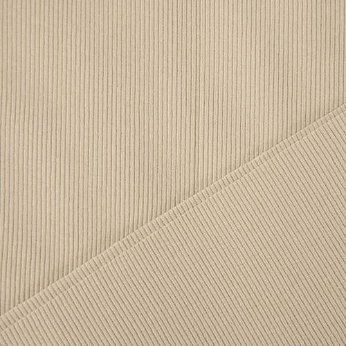 Ткань на отрез кашкорсе 3-х нитка с лайкрой цвет светлый кемел (Уценка) фото 2