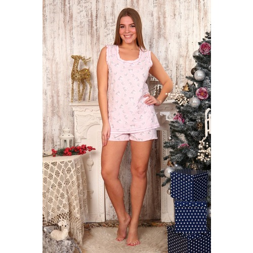 Пижама Майя Розовая Б1 р 52 фото 1