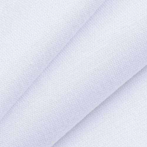 Мерный лоскут рибана с лайкрой М-2000 цвет белый 0,4 м фото 1