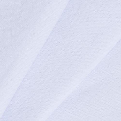 Мерный лоскут кулирка с лайкрой цвет белый 0,1 м фото 1