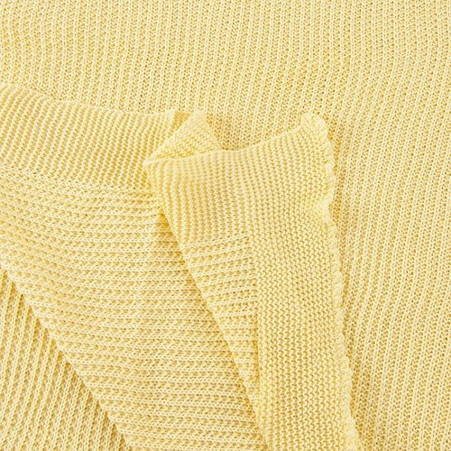 Покрывало-плед Петелька 180/200 цвет желтый фото 4