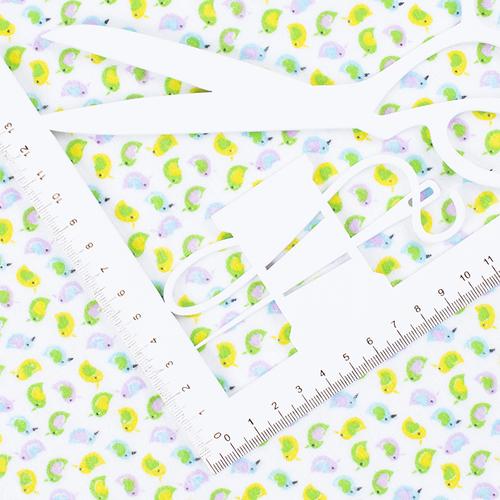 Маломеры фланель 90 см 95031 Птички 3.5 м фото 4