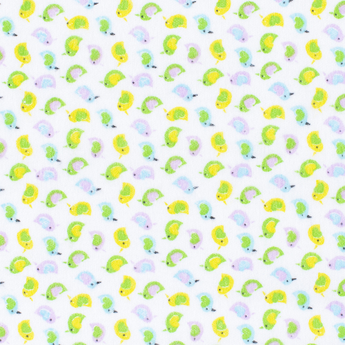 Маломеры фланель 90 см 95031 Птички 4.1 м фото 1