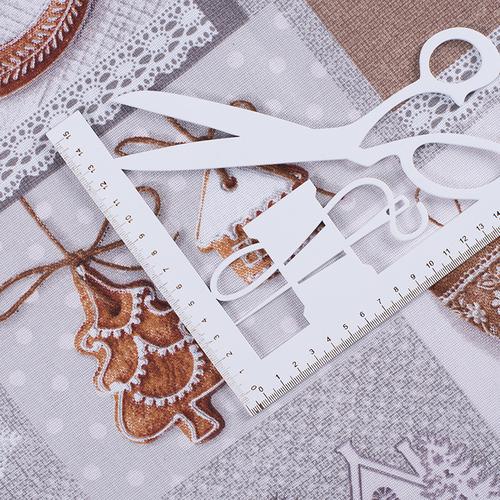 Ткань на отрез рогожка 150 см 11470/1 Лапландия фото 5