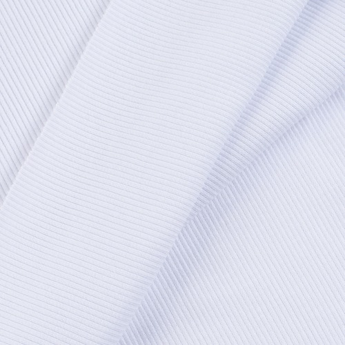 Ткань на отрез кашкорсе с лайкрой цвет белый фото 2