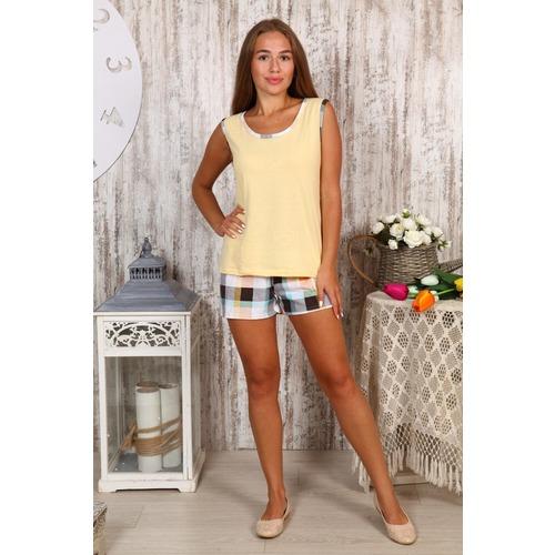 Пижама Шорты «Аня» Желтая Б23 р 54 фото 1
