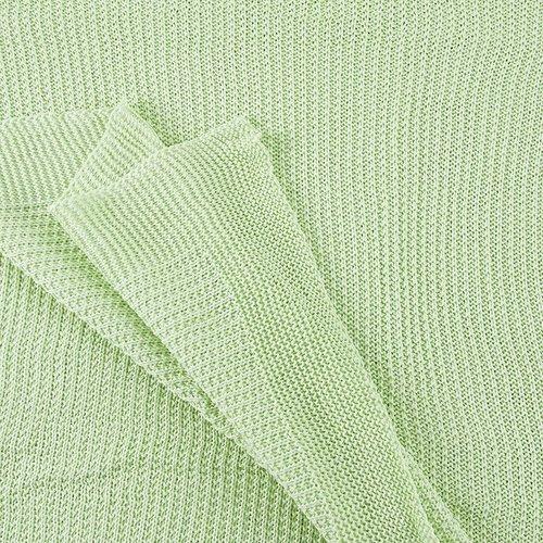 Покрывало-плед Петелька 150/200 цвет салатовый фото 3
