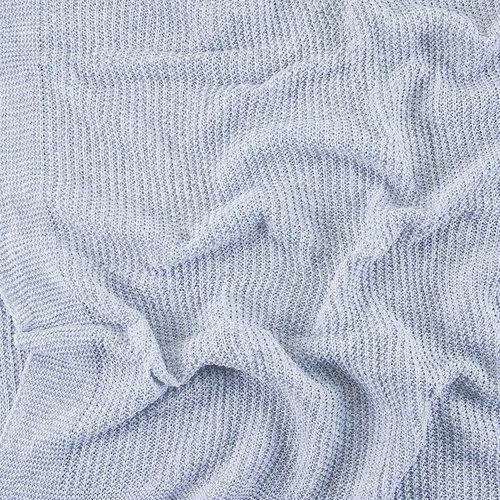 Покрывало-плед Петелька 150/200 цвет серый фото 4