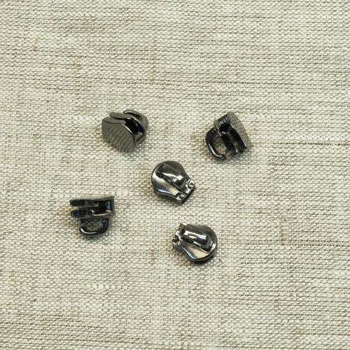 Слайдер галантерейный №3 черный никель без подвеса фото 1