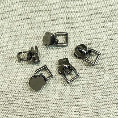 Бегунок галантерейный №5 БГ500BN черный никель фото 1