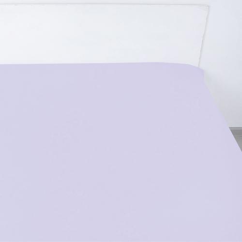Простыня сатин 14-3805 цвет сирень 1.5 сп фото 1