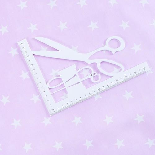 Ткань на отрез бязь плательная 150 см 1700/2 цвет розовый фото 2