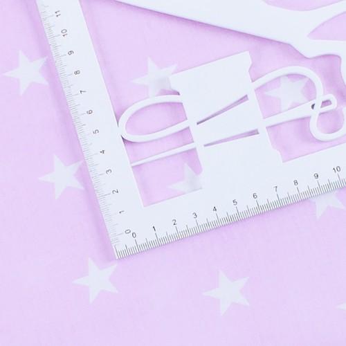 Ткань на отрез бязь плательная 150 см 1700/2 цвет розовый фото 3