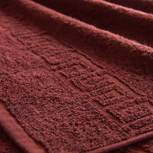Полотенце махровое Туркменистан 50/90 см цвет горячий шоколад фото 1