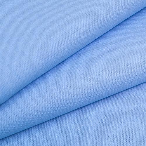 Ткань на отрез бязь ГОСТ Шуя 150 см 12410 голубой фото 1