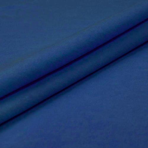 Ткань на отрез фланель 90 см цвет синий фото 1