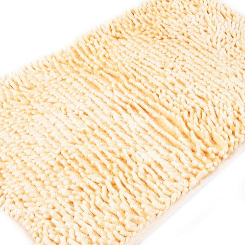 Коврик для ванной Makaron 40/60 цвет желтый фото 3