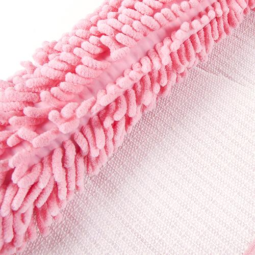 Коврик для ванной Makaron 40/60 цвет розовый фото 2