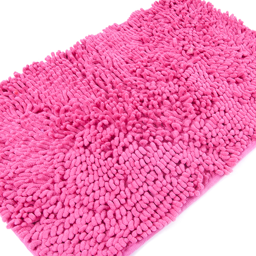 Коврик для ванной Makaron 40/60 цвет малина фото 3