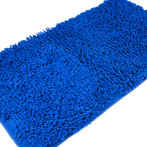 Коврик для ванной Makaron 50/80 цвет синий фото 3