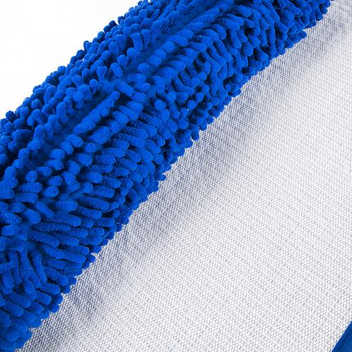 Коврик для ванной Makaron 50/80 цвет синий фото 2