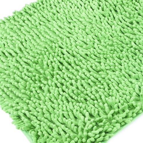 Коврик для ванной Makaron 50/80 цвет молодая зелень фото 1