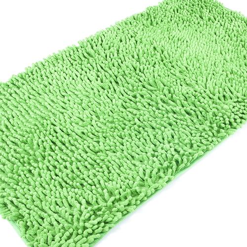 Коврик для ванной Makaron 50/80 цвет молодая зелень фото 2
