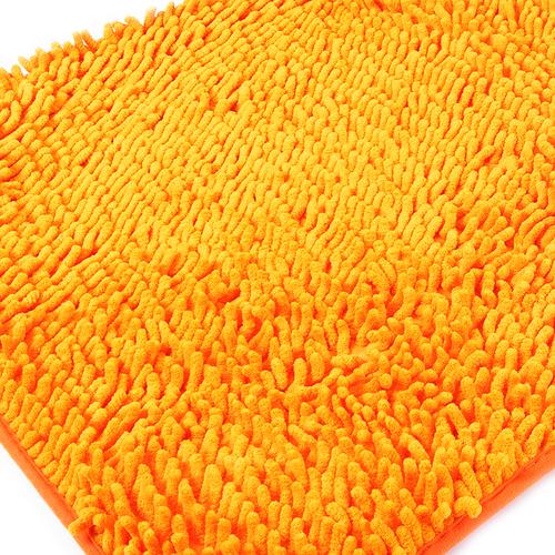 Коврик для ванной Makaron 50/80 цвет оранжевый фото 1