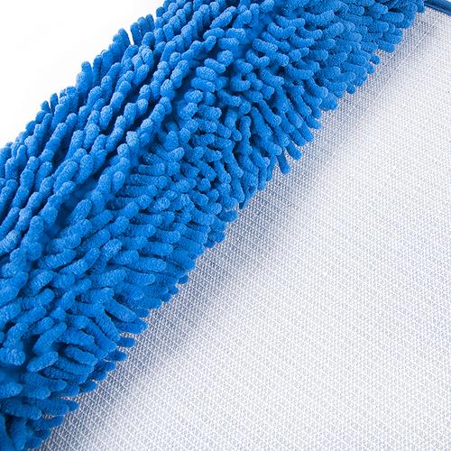 Коврик для ванной Makaron 50/80 цвет голубой фото 3
