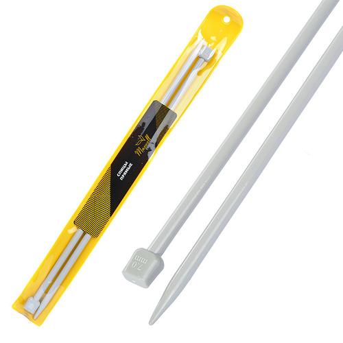 Спицы для вязания прямые Maxwell Gold Тефлон 6569 7,0 мм 35 см 2 шт фото 1