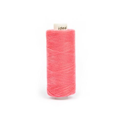 Нитки бытовые IDEAL 40/2 366м 100% п/э, цв.161 розовый фото 1