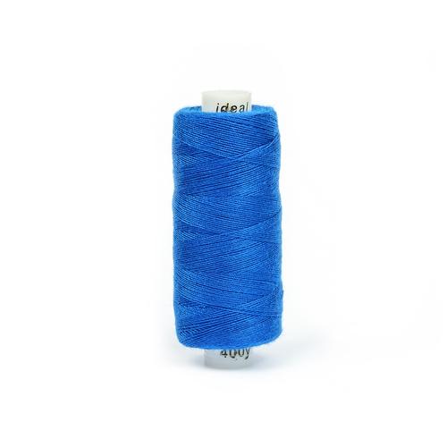 Нитки бытовые IDEAL 40/2 366м 100% п/э, цв.255 синий фото 1