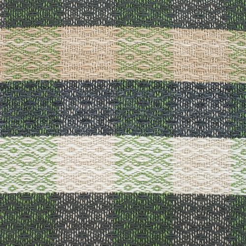 Плед Ромбы 100% ПАН 500 гр цвет зеленый 150/210 см фото 2