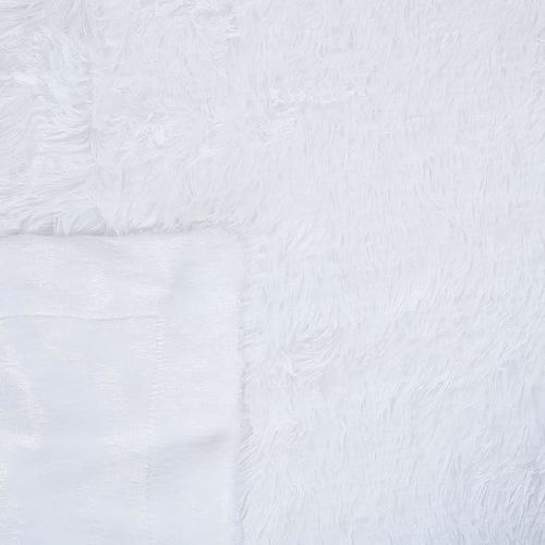 Покрывало-плед шиншилла 220/240 цвет белый фото 3