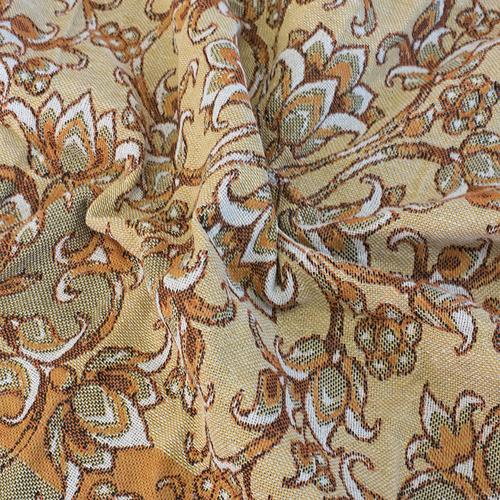 Покрывало гобелен Лилии оранжевый 200/240 фото 4