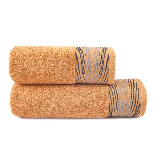 Полотенце махровое Sunvim 18В-2 Сафари 65/135 см цвет оранжевый фото 1