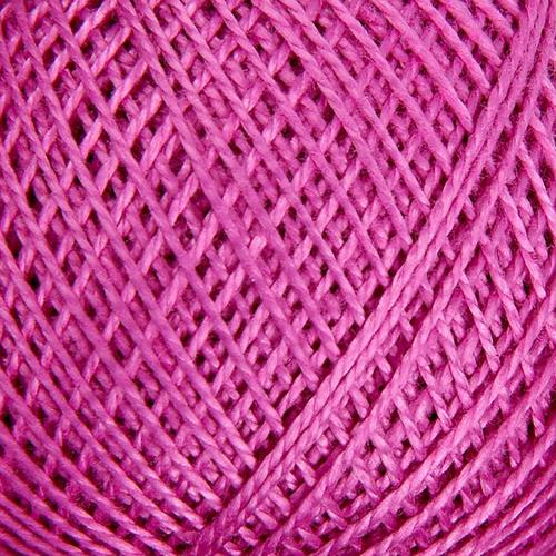 Нитки для вязания Ирис 100% хлопок 25 гр 150 м цвет 1706 сиреневый фото 1