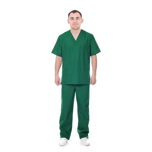 Костюм Хирург рукав короткий ТиСи изумруд 52-54 рост 172-176 фото 1