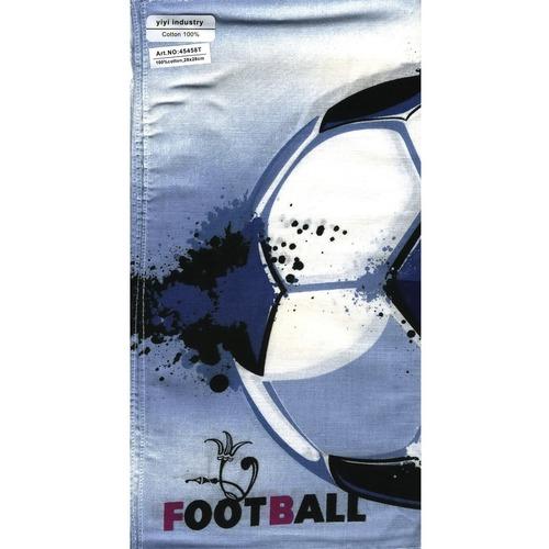 Платки носовые детские 28х28 Футбол (10 шт) фото 1