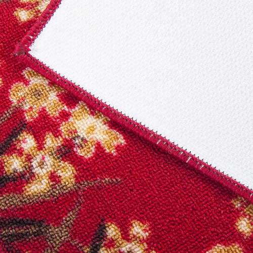 Коврик для ванной 45/75 200 цвет красный фото 2