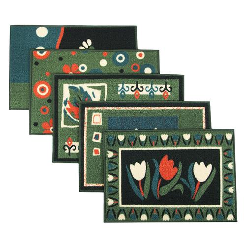 Коврик для ванной 45/75 200 цвет зеленый фото 1