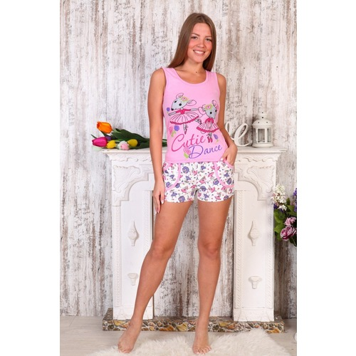 Пижама С Майкой Мышки Э57 р 46 фото 1
